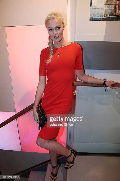 Miriam Hoeller attends the Laurel Flagship Store Opening on September 19 2013 in Munich Germany