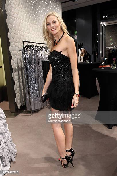 Miriam Hoeller attends the Unique Flagship Store Opening at the new 'Koe Bogen' on November 28 2013 in Duesseldorf Germany
