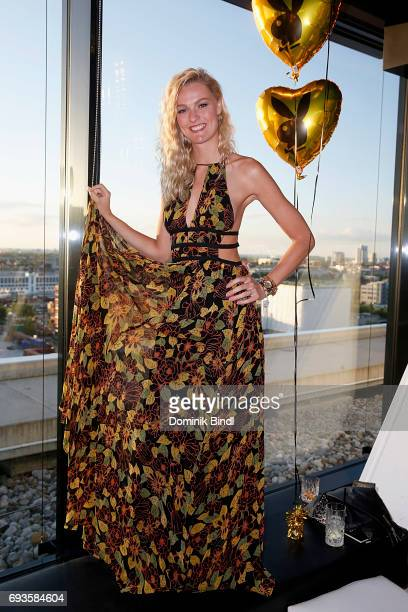 Miriam Hoeller during the celebration of the 45th anniversary of Playboy Germany at Upside East on June 7 2017 in Munich Germany