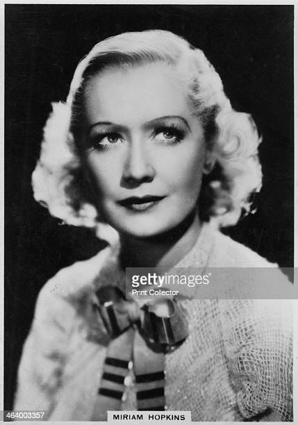 Miriam Hopkins American actress 1938 In 1930 after ten years on the stage as a successful actress Miriam Hopkins joined Paramount and became one of...