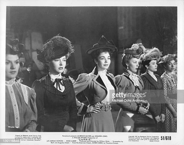 Miriam HopkinsJennifer Jones in a scene from the film 'Carrie' 1951