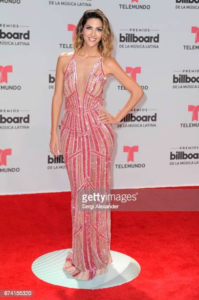 Miriam Isa attends the Billboard Latin Music Awards at Watsco Center on April 27 2017 in Coral Gables Florida