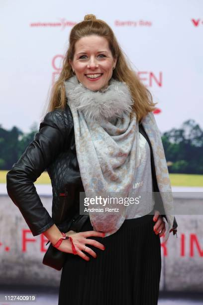 Miriam Lange attends the German premiere of the film Club der Roten Baender Wie alles begann at Cinedom on February 04 2019 in Cologne Germany