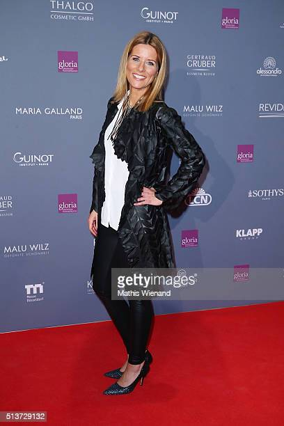 Miriam Lange attends the Gloria Deutscher Kosmetikpreis 2016 at Hilton Hotel on March 4 2016 in Duesseldorf Germany
