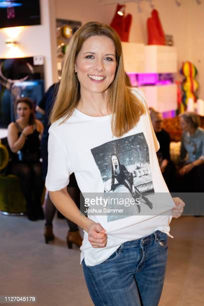 Miriam Lange during the Superbirdy Special Edition Presentation at stilwerk on February 02 2019 in Duesseldorf Germany