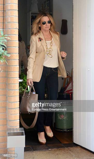 Miriam Lapique attends the birthday of Nuria Gonzalez on April 15 2013 in Madrid Spain