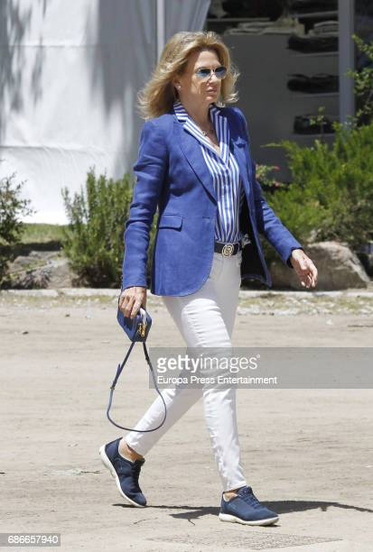 Miriam Lapique attends the Global Champions Tour tournament on May 21, 2017 in Madrid, Spain.