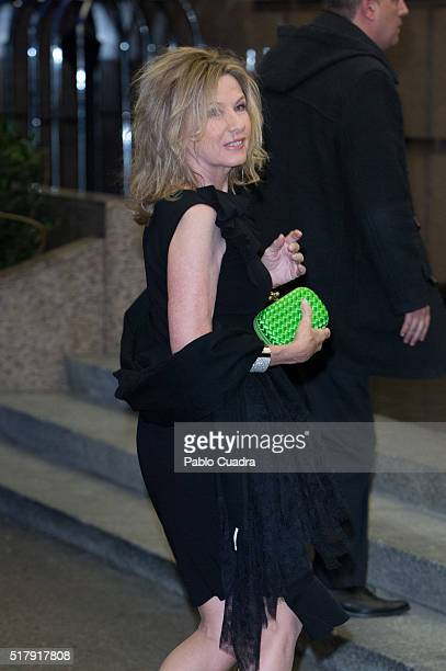 Miriam Lapique attends the Mario Vargas Llosa 80th birthday party at the Villa Magna hotel on March 28 2016 in Madrid Spain