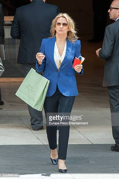 Miriam Lapique attends the opening of the painting exhibition 'The Bosch' at El Prado Museum on May 30 2016 in Madrid Spain