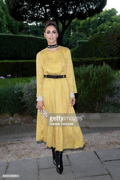 Miriam Leone attends McKim Medal Gala at Villa Aurelia on June 7 2017 in Rome Italy