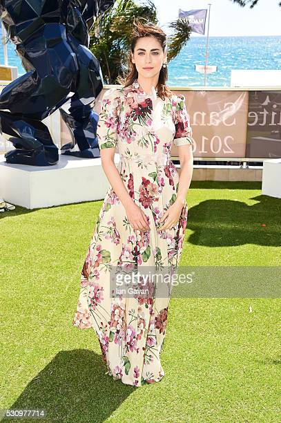 Miriam Leone attends the 'Fai Bei Sogni' photocall during the 69th annual Cannes Film Festival at Palais des Festivals on May 12 2016 in Cannes France