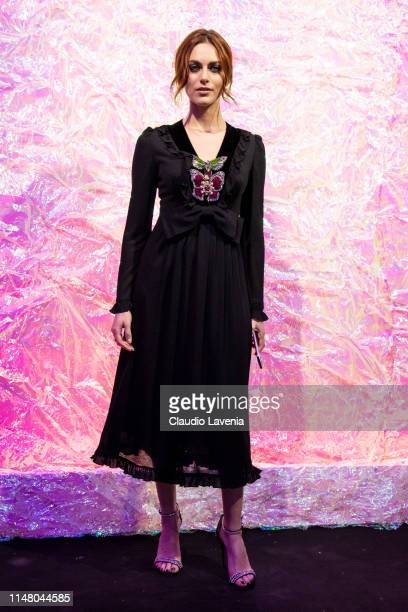 Miriam Leone attends the Huawei Fashion Flair event on May 09, 2019 in Milan, Italy.