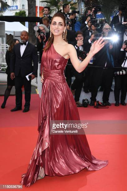 """Miriam Leone attends the screening of """"La Belle Epoque"""" during the 72nd annual Cannes Film Festival on May 20, 2019 in Cannes, France."""