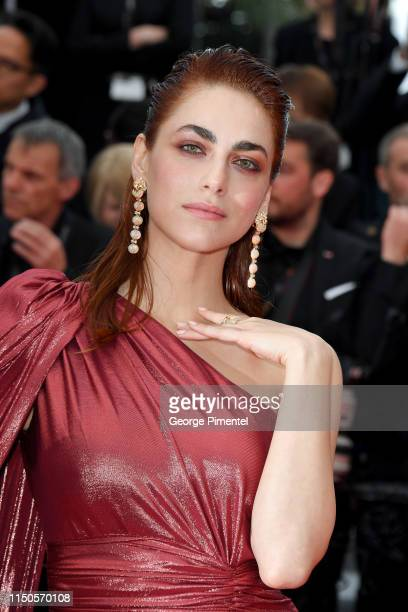 """Miriam Leone attends the screening of """"Le Belle Epoque"""" during the 72nd annual Cannes Film Festival on May 20, 2019 in Cannes, France."""