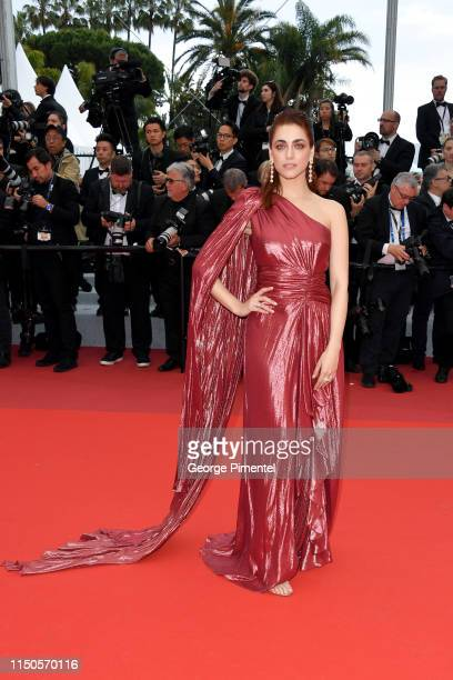 Miriam Leone attends the screening of Le Belle Epoque during the 72nd annual Cannes Film Festival on May 20 2019 in Cannes France