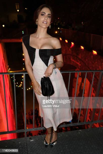 Miriam Leone attends Tod's X Alber Elbaz Happy Moments at Yoyo Palais De Tokyo on July 02 2019 in Paris France