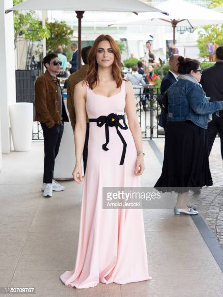Miriam Leone is seen at the Martinez hotel during the 72nd annual Cannes Film Festival on May 21, 2019 in Cannes, France.