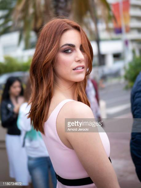 Miriam Leone is seen at the Martinez hotel during the 72nd annual Cannes Film Festival on May 21 2019 in Cannes France
