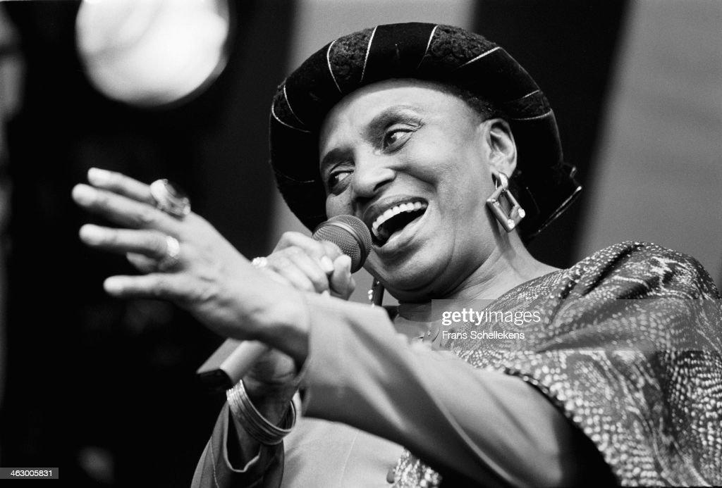 Miriam Makeba 1990 : News Photo