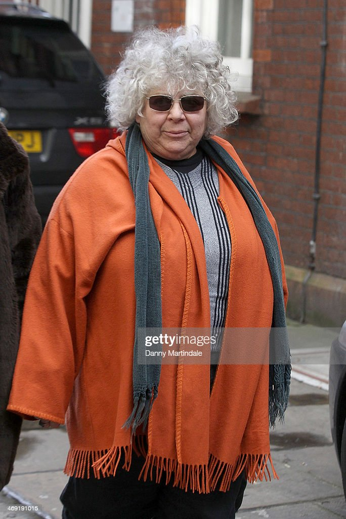 Miriam Margolyes attends the funeral of actor Roger Lloyd-Pack at St Paul's Church on February 13, 2014 in London, England.