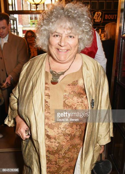 Miriam Margolyes attends the Opening Night Royal Gala performance of 42nd Street in aid of the East Anglia Children's Hospice at the Theatre Royal...