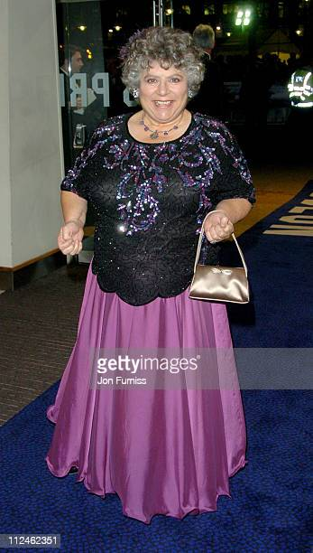 Miriam Margolyes during Ladies in Lavender Royal London Premiere Inside Arrivals at Odeon Leicester Square in London Great Britain