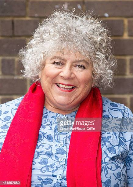 Miriam Margolyes is seen on September 03 2013 in London United Kingdom
