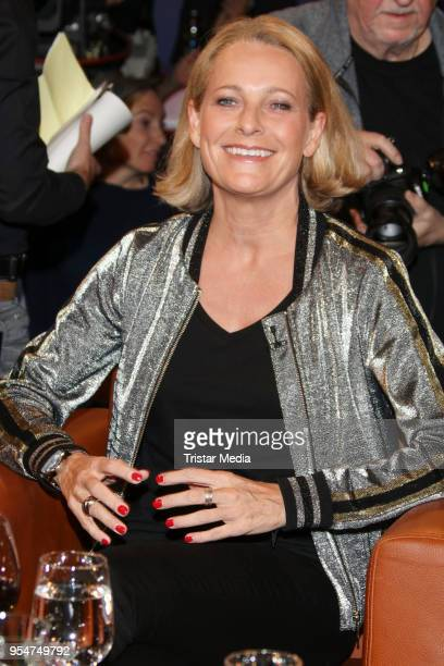Miriam Meckel during the NDR Talk Show on May 4 2018 in Hamburg Germany