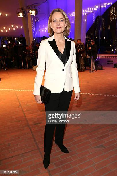 Miriam Meckel during the opening concert of the Elbphilharmonie concert hall on January 11 2017 in Hamburg Germany