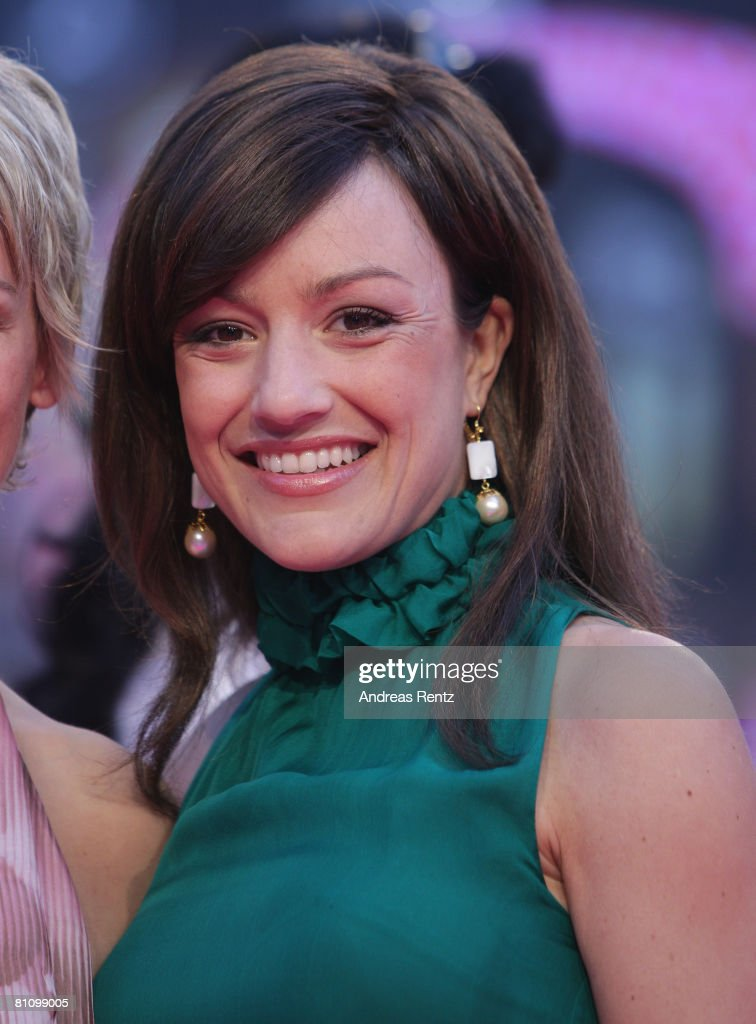 Miriam Pielhau arrives at the German premiere of 'Sex And The City' at the cinestar on May 15, 2008 in Berlin, Germany.