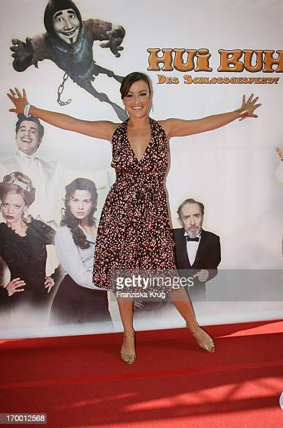 Miriam Pielhau At The Premiere Of 'Hui Buh The Goofy Ghost' At The Mathäser movie palace in Munich 160706