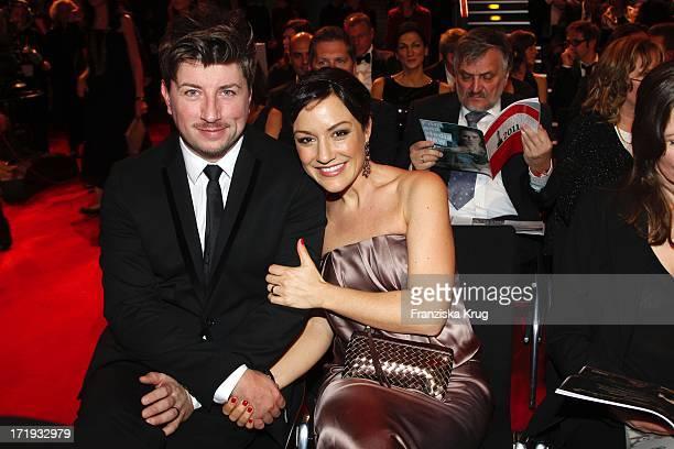 Miriam Pielhau Und Ehemann Thomas Hanreich Bei Der Verleihung Des Europischen Filmpreis Im Tempodrom In Berlin