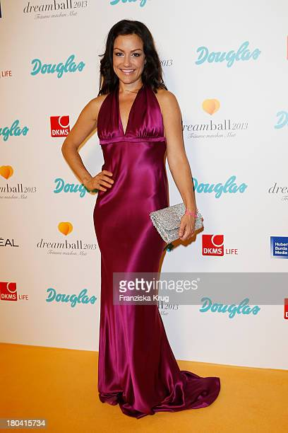 Miriam Pilhau attends the Dreamball 2013 charity gala at Ritz Carlton on September 12, 2013 in Berlin, Germany.