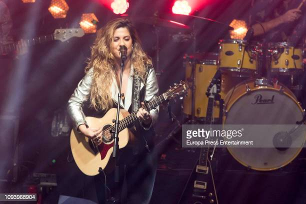 Miriam Rodriguez performs in concert at Sala But on January 11 2019 in Madrid Spain