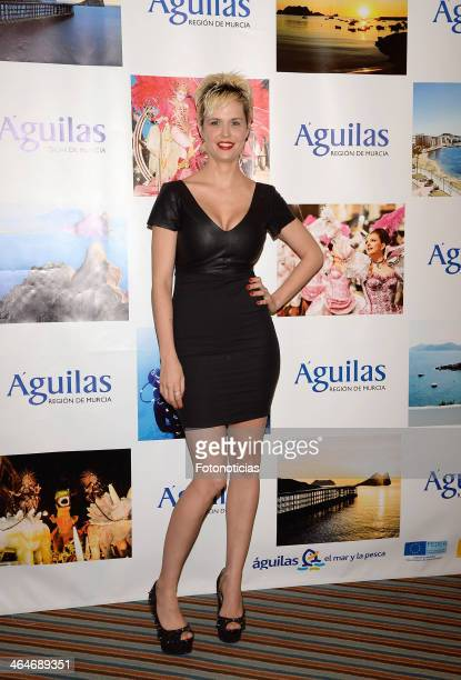 Miriam Sanchez attends 'Aguilas' Gala at Husa Princesa Hotel on January 23 2014 in Madrid Spain
