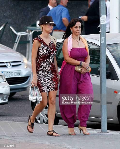 Miriam Sanchez is seen on September 3 2012 in Madrid Spain