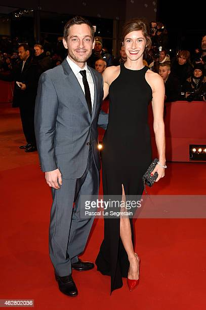 Miriam Stein attends the 'Nobody Wants the Night' premiere and Opening Ceremony of the 65th Berlinale International Film Festival at Berlinale Palace...