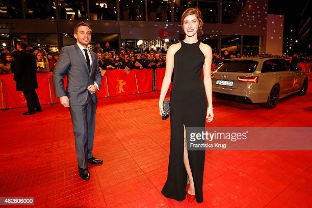 Miriam Stein attends the 'Nobody Wants the Night' premiere during the 65th Berlinale International Film Festival on February 05, 2015 in Berlin,...