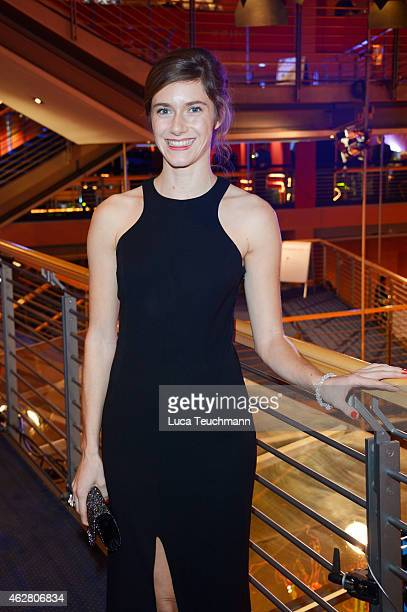 Miriam Stein attends the opening party during the 65th Berlinale International Film Festival at Berlinale Palace on February 5 2015 in Berlin Germany