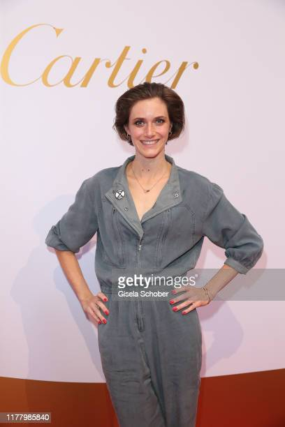 """Miriam Stein during the """"Clash de Cartier - The Opera"""" event at Eisbachstudios on October 24, 2019 in Munich, Germany."""
