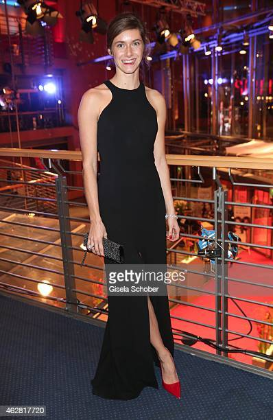 Miriam Stein during the Opening Party for the 65th Berlinale International Film Festival at Berlinale Palace on February 5 2015 in Berlin Germany