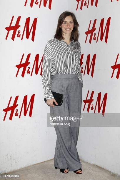 Miriam Stein wearing HM during the Inter/VIEW X HM Party on February 13 2018 in Berlin Germany