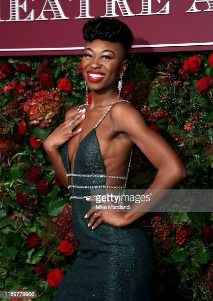 Miriam Teak Lee attends the 65th Evening Standard Theatre Awards at the London Coliseum on November 24 2019 in London England