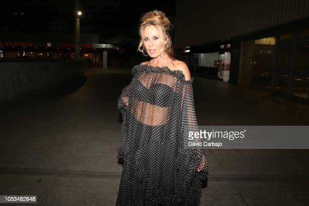 Mirian Diaz Aroca attends the premiere of the film Bernarda on October 25 2018 in Seville Spain
