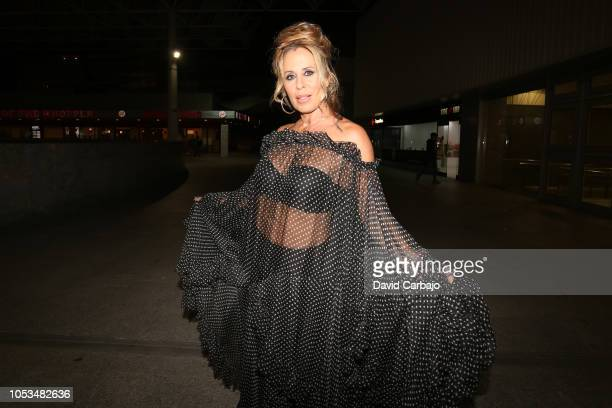Mirian Diaz Aroca attends the premiere of the film Bernardaon October 25 2018 in Seville Spain