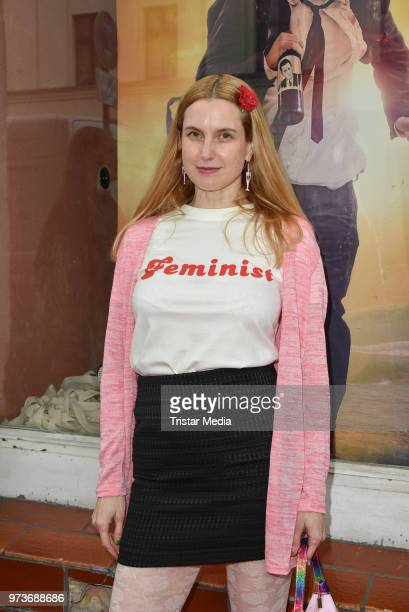 Mirijam Verena Jeremic attends the film preview of 'Der Sportpenner' on June 13 2018 in Berlin Germany