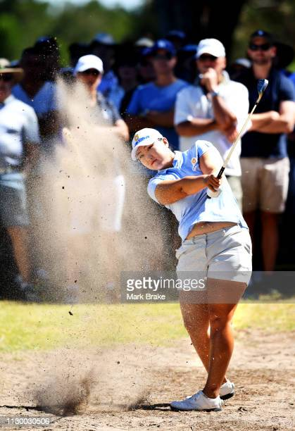 Mirim Lee of Korea during day three of the 2019 ISPS Handa Women's Australian Open at The Grange GC on February 16 2019 in Adelaide Australia