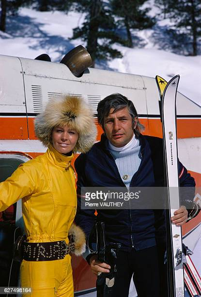 Mirja and Gunter Sachs at the Swiss ski resort of StMoritz Gunter Sachs was a German millionaire and former husband of French actress Brigitte Bardot