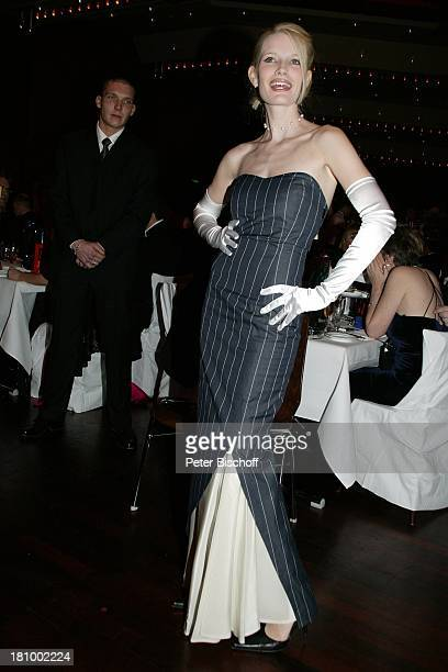 Mirja Becker Frankfurter Opernball 2003 Frankfurt Alte Oper großer Saal Abendkleid