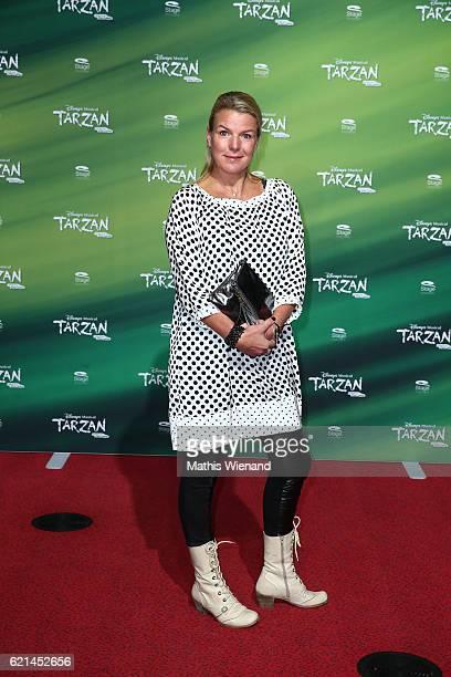Mirja Boes attends 'Tarzan' Musical Premiere on November 6 2016 in Oberhausen Germany